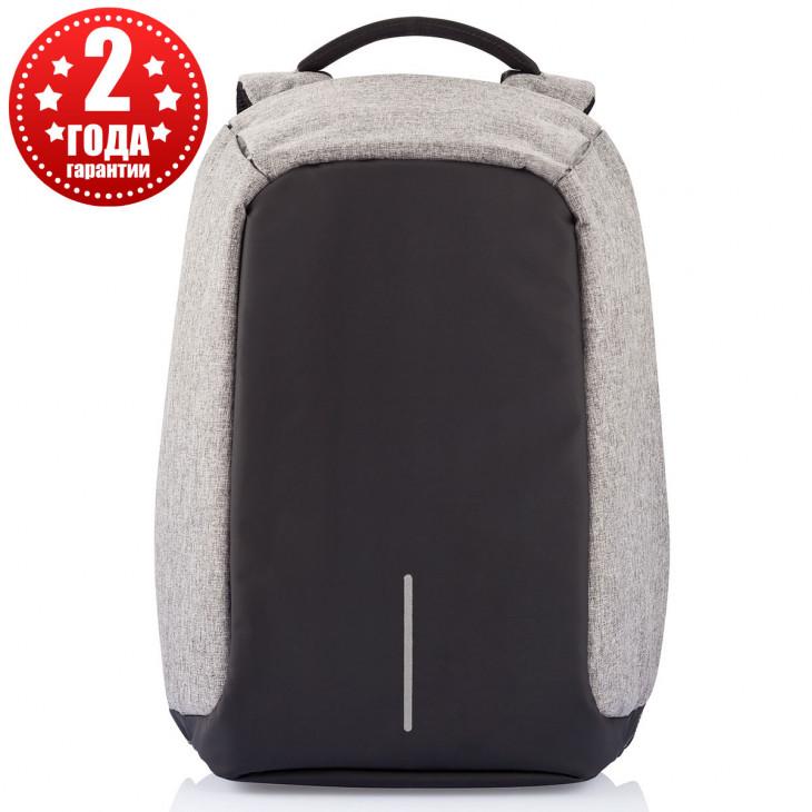 f491a882adf9 Рюкзак городской антивор XD DESIGN Bobby XL Grey (Оригинал) купить с ...
